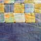 Book cover w/patchwork
