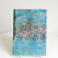 Fibre art textural loose book cover