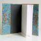 Fibre art loose book cover