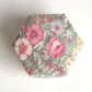 Container, fabric covered, lidded